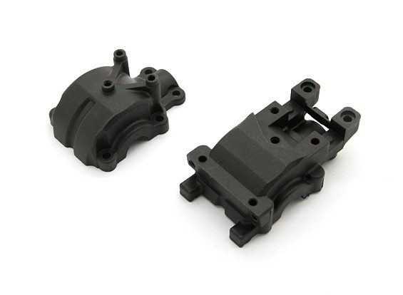Fibre Reinforced Front Gear Box Case - BZ-444 Pro 1/10 4WD Racing Buggy
