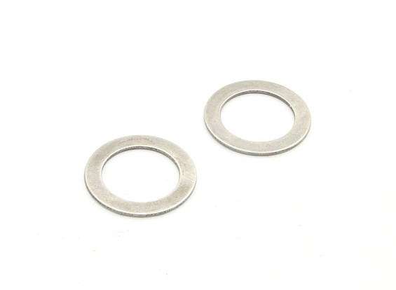 Ball Diff. Pressure Plate (2pcs) - BSR Racing BZ-444 1/10 4WD Racing Buggy