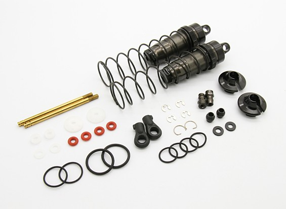 Rear Shock Absorber (Big Bore) - BZ-444 Pro 1/10 4WD Racing Buggy (1pair)