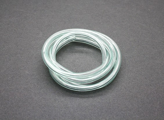 Silicon fuel pipe (1 mtr) Green 4.5x2.5mm (Nitro & Gas Engines)