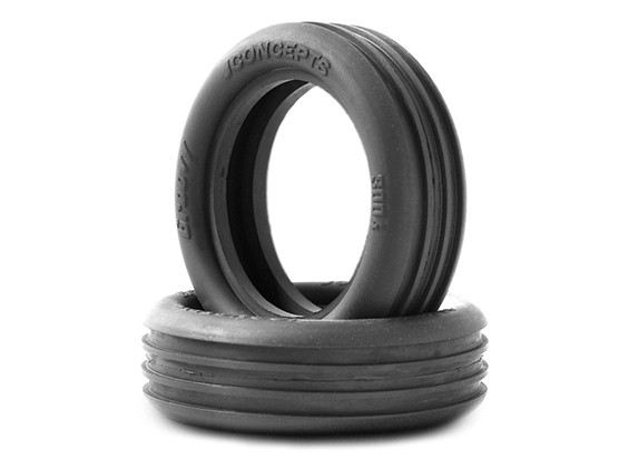 JCONCEPTS Groovy 1/10th 2WD Buggy Front Tyres - Green (Super Soft) Compound