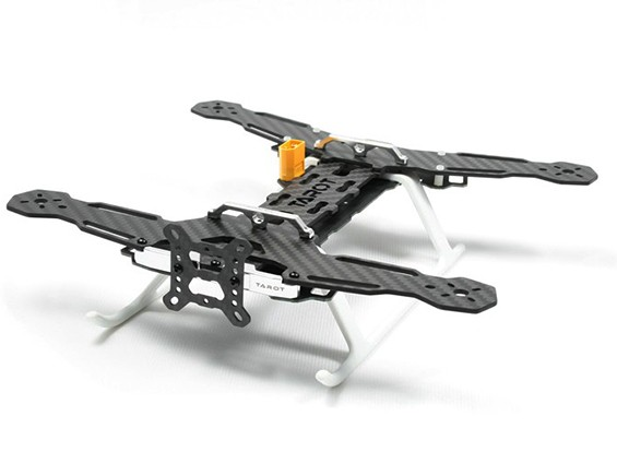 Tarot 250mmMini Through TheMachine Quadcopter With PCB