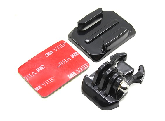 Helmet Mount with Quick Release for Turnigy Action Cam/GoPro Camera