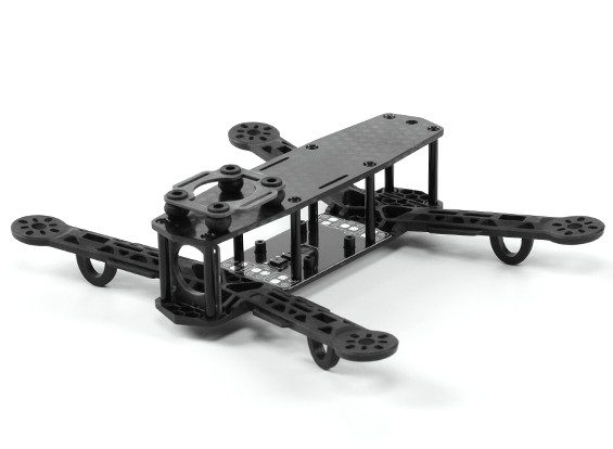 H-King Color 250 Class FPV Racing Drone Frame (Black)