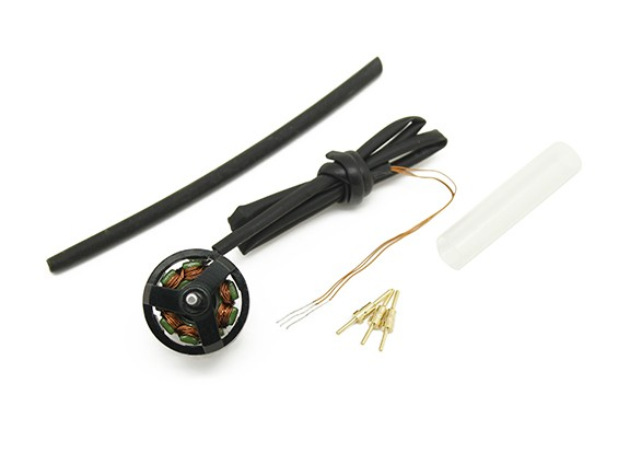 Assault 100 Flybarless Helicopter Replacement Brushless Tail Motor with Wiring Harness