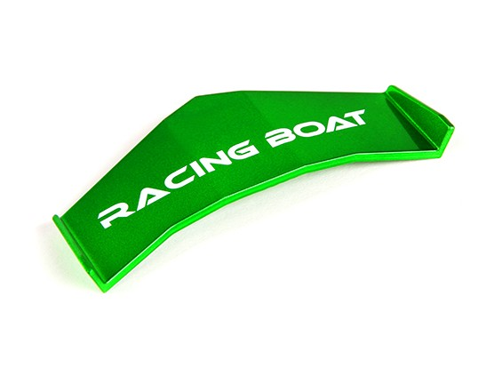 FT009 High Speed V-Hull Racing Boat 460mm Replacement Spoiler (Green)