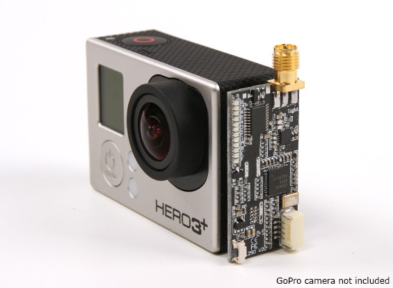 Turnigy Light L250 5.8GHz 250mW FPV Transmitter for GoPro 3/3 plus