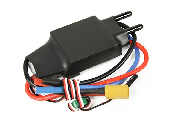 Watercooled 50A ESC (Drop-in Replacement Hornet Formula-1 Tunnel Hull)