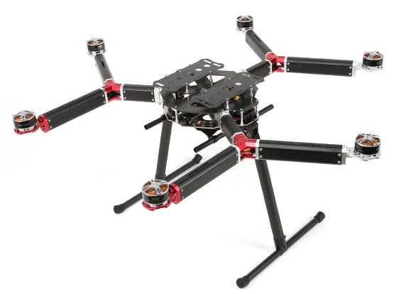 DYS D800 V-6 Professional Multi-Rotor Aerial Photography And Heavy Lift Platform (PNF)