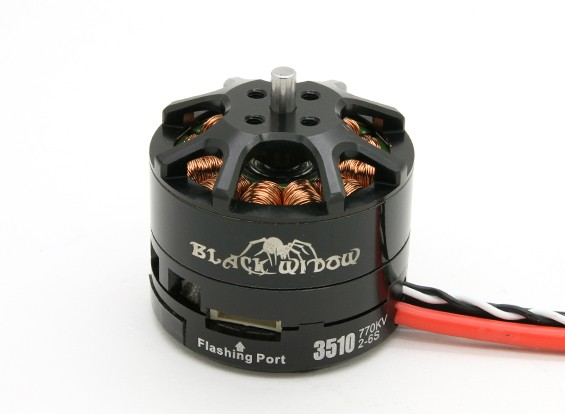 Black Widow 3510-770Kv With Built-In ESC CW/CCW
