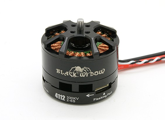 Black Widow 4112-320Kv With Built-In ESC CW/CCW