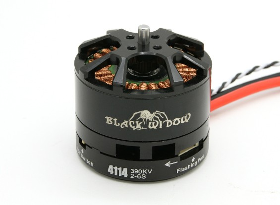 Black Widow 4114-390Kv With Built-In ESC CW/CCW