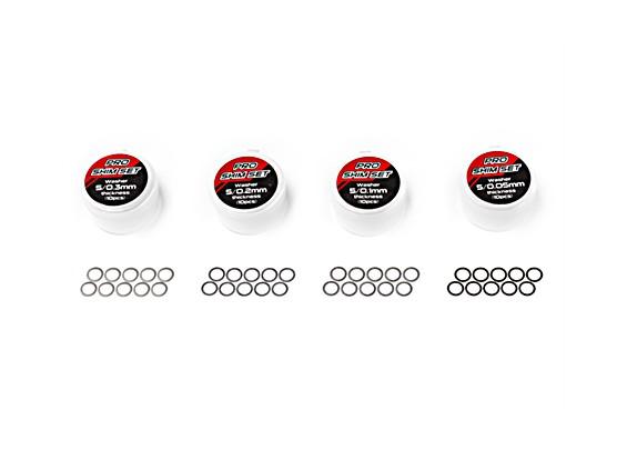 TrackStar Pro Shim Set - Inner 5mm (10pcs)