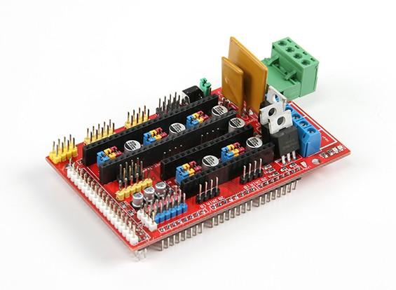 3D Printer RAMPS 1.4 Control Board Kingduino Mega Shield