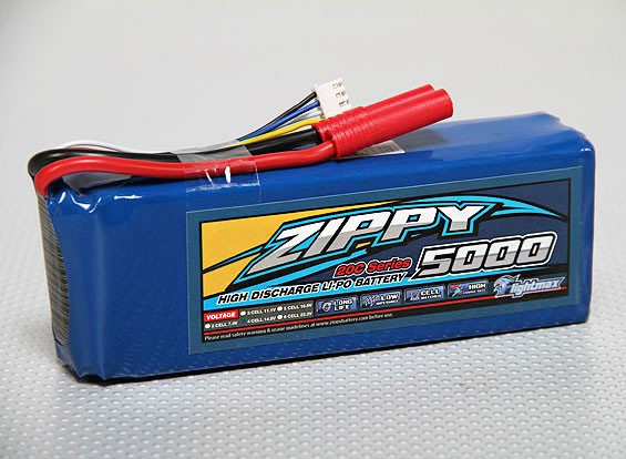 ZIPPY Flightmax 5000mAh 4S1P 20C
