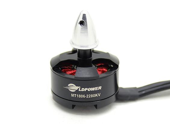 LDPOWER MT1806-2280KV Brushless Multicopter Motor (CW)