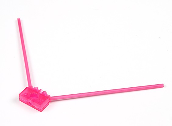 Turnigy 2.4G Antenna Mount for Racing Drones (Pink)
