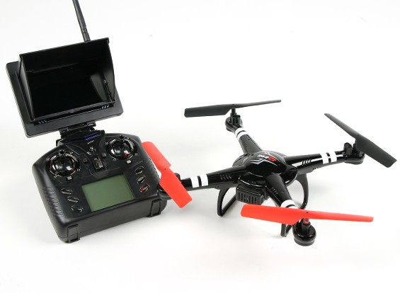 Q222G Spaceship - Altitude Hold Quad with FPV