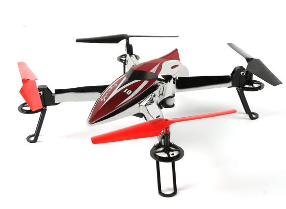 WLtoys Q212 Spaceship Quadcopter w/Barometric Altimeter & 1 Key Auto Start RTF (Mode 2)