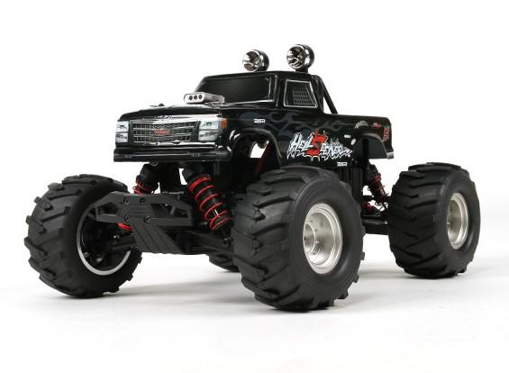 Basher 1/16 4WD Mini Monster Truck V2 - HellSeeker (RTR)
