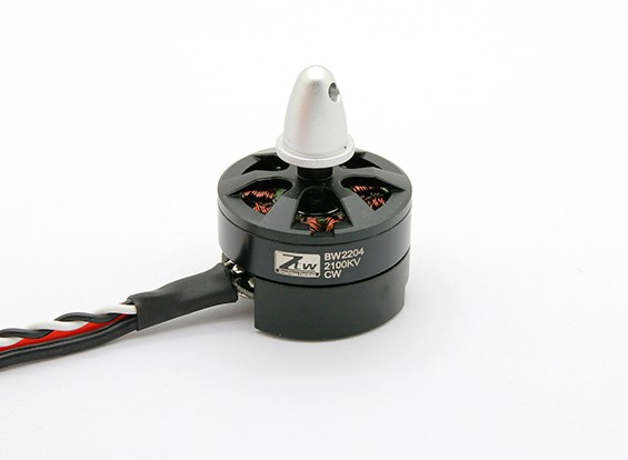 Black Widow 2204 2100KV With Built-In ESC CW