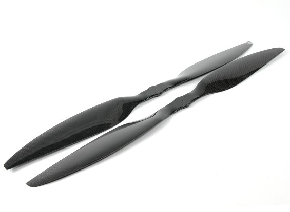 Dynam 30x5.5 Carbon Fiber Propellers for Multirotors (CW and CCW) (1pair)