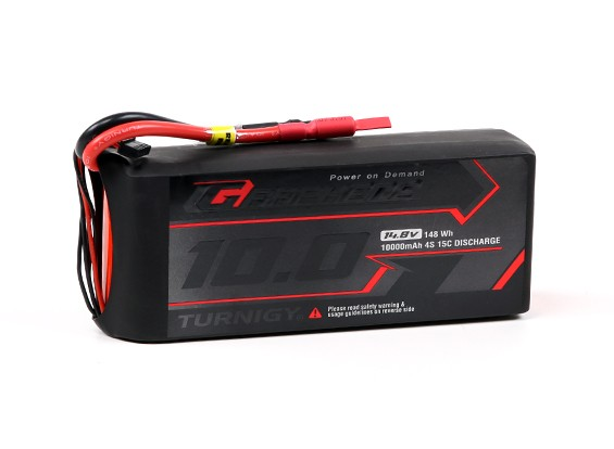 Turnigy Graphene Professional 10000mAh 4S 15C LiPo Pack w/5.5mm Bullet Connector
