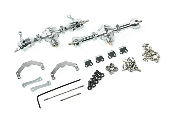 Orlandoo OH35P01 4WD - Upgrade/Spare Part MA2-550 55mm Alu. Axle unit (complete)
