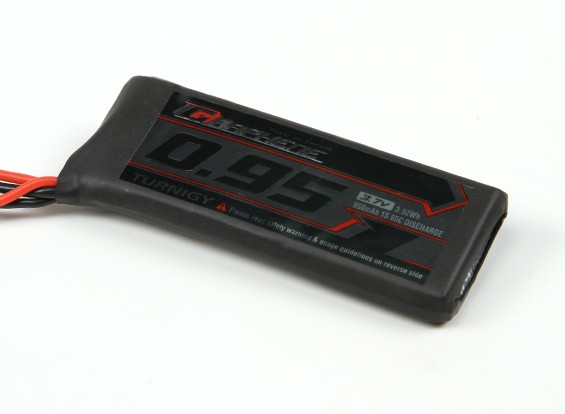 Turnigy Graphene 950mAh 1S 65C LiPo Pack w/ JST-SYP-2P