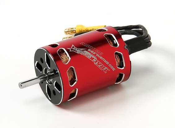 TrackStar 380 Sensorless Brushless Motor 3200KV
