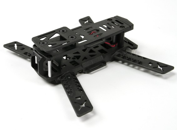 KINGKONG 188 FPV Racing Drone Frame (Kit) (Black)