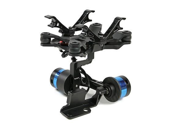 Tarot T-2D V2 Xiaomi Yi Sports Camera Brushless Camera Gimbal and  ZYX22 Controller
