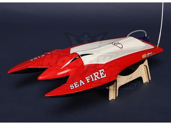 Sea Fire Brushless Twin-Hull R/C Boat (662mm) Plug-n-Drive