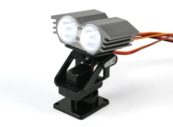Turnigy Twin Search Light w/ Pan and Tilt