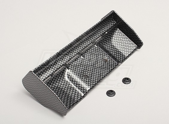1/8 wing Carbon Fiber finish with mount washers
