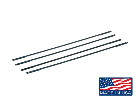 """Zona 5"""" Replacement Pin End Coping Saw Blades 24TPI (4pcs)"""