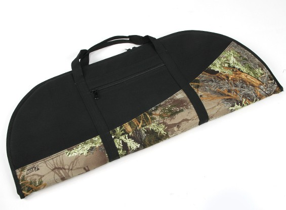 Padded Recurve Bow Bag - Woodland Camo/Black