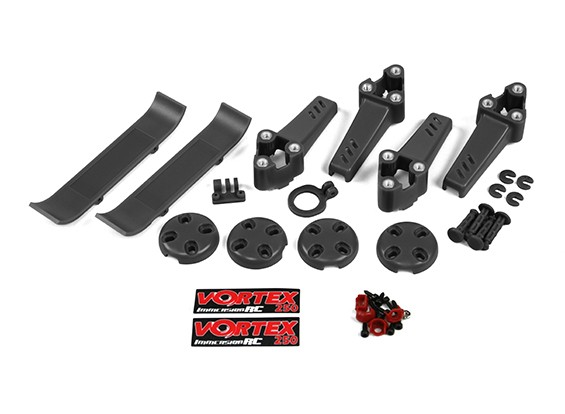 ImmersionRC - Vortex 250 PRO Pimp Kit (Black)