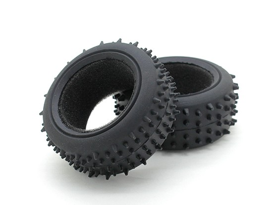 GPM Racing Kyosho Mini Inferno F/R Radial Tire w/Insert (30g) (Offroad) (1pr)