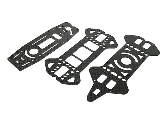 Jumper 218 Pro Upper and Lower Decks (Carbon Fiber) (3pcs)