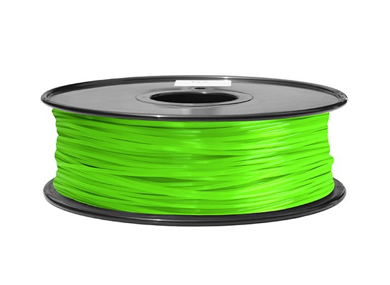 HobbyKing 3D Printer Filament 1.75mm ABS 1KG Spool (Green)