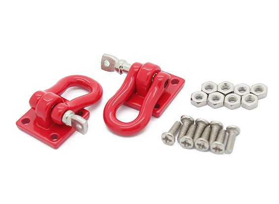 "1/10 Scale """"U"""" Shackle - Plate Mounted"