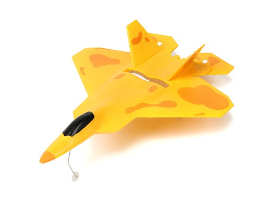Micro F22 Jet Fighter w/Auto Takeoff and Stability Control RTF (Brushed Motor Mode2)