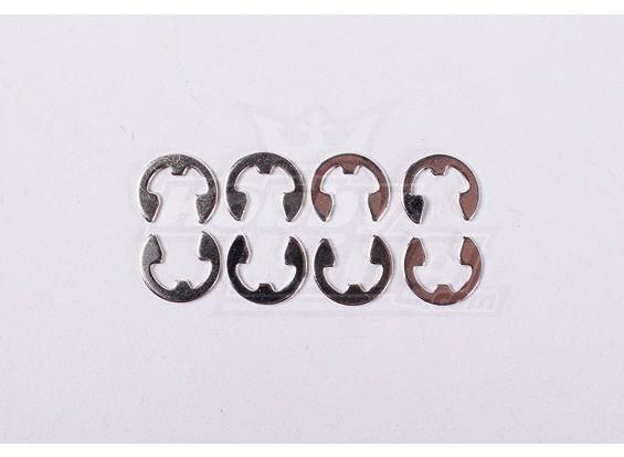 E-ring Dia5 (8pcs/Bag) - A2016