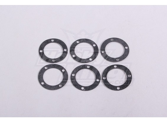 Diff.Box Washers (6Pc/Bag) - A2016T, A2038 and A3015