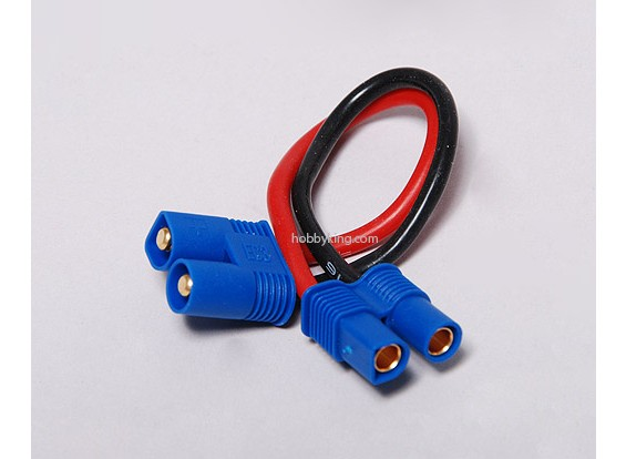 EC3 Extension Wire 16AWG 10cm