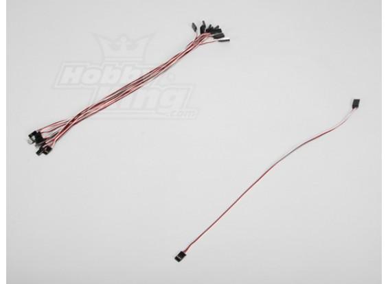 40CM Servo Lead (Futaba) 32AWG Ultra Light (10pcs/set)
