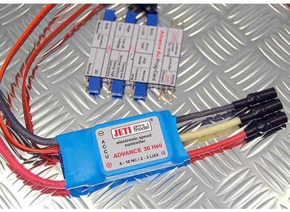 Jeti Advance Plus 30 Heli w/ Programming Card