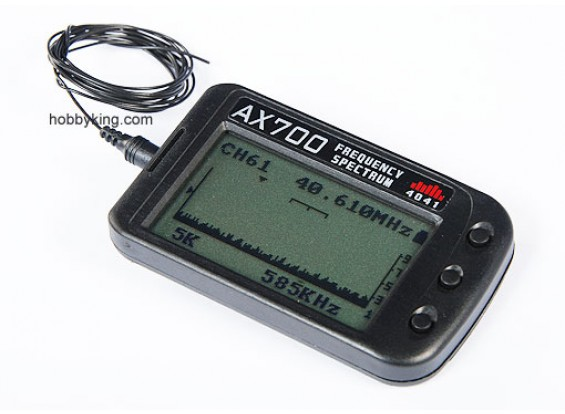 MKS AX700 72~75mhz Frequency scanner