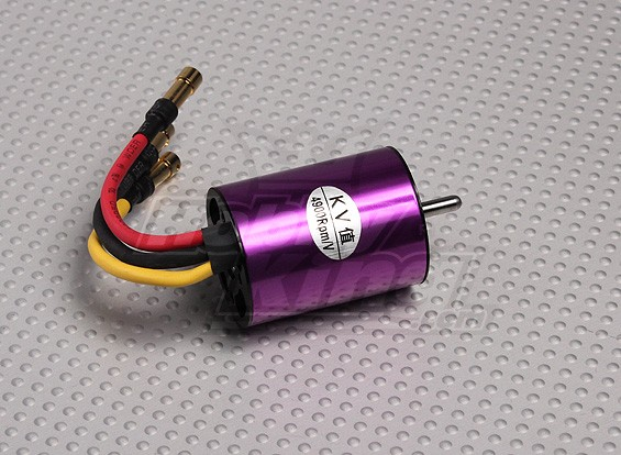 B2835-4900kv Brushless Inrunner